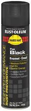 Rust-Oleum Professional Spray Paint, 15 Oz Flat Black
