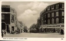 Romford. Centre of Romford Looking to South Street # V1267 by Photochrom. Bus.