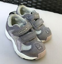 Baby infant Toddler Girls Sneaker Walking Shoes 5 Timberland Purple Leather