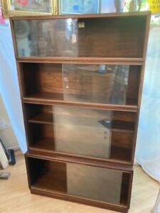 Oak stacking bookcase #84a