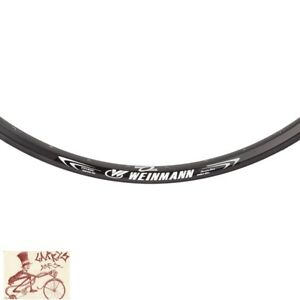 "WEINMANN XM280 DISC  32H---29""  BLACK BICYCLE RIM"