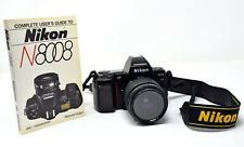 New ListingNikon N8008s 35mm Film Camera W/Promaster 28-80mm 3.5-5.6 Lens, Sunpak Uv Filter