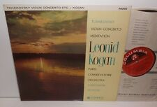 33CX 1711 Tchaikovsky Violin Concerto Leonid Kogan Paris Conservatoire Silvestri