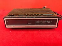 Spartus Model 0107 Alarm Clock AM/FM Radio WORKS! - N1