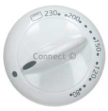 Beko Oven Cooker Hob Hotplate Control Knob Dial White 	450920462