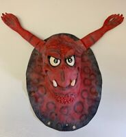 Halloween Monster Face Suction Cup Window Cling Decor Prop