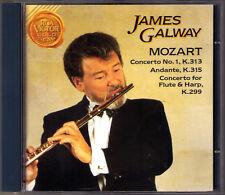 James Galway: Mozart Flute Concerto No. 1 Harp Rudolf Baumgartner Eduardo matacd