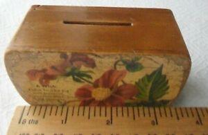 Vintage Money Box with secret/puzzle opening