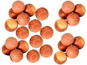 Cedar wood moth balls Moth repellent Cedar mildew eco friendly  clothes drawer