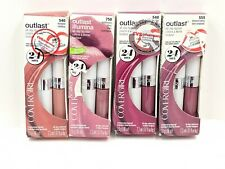 COVERGIRL OUTLAST ALL DAY LIPCOLOR - ASSORTED COLORS - (4X) PINK Lipsticks