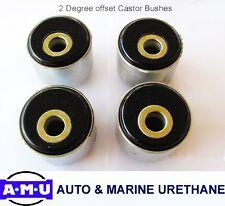 2 Degree Polyurethane Castor Correction Bush Kit Fits Nissan Patrol GU/GQ - QLD