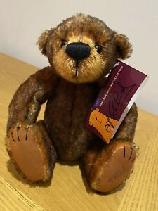 Wingnut Mohair Bear, The Cliff Richard Collection by Gund 59/500 & Certificate