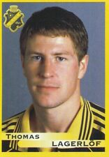 015 THOMAS LAGERLOF # SWEDEN AIK STICKER FOTBOLL ALLSVENSKAN 1999