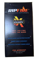RipFire Xcelerate Pre-Workout Energy Dietary Supplement 90 Tablets NEW