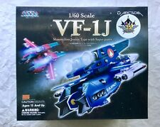 Arcadia Macross 1/60 VF-1J Super Part Valkyrie Fighter action figure Max Jenius