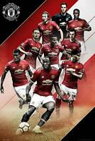 Manchester United Players 2017-2018 - Maxi Poster 61cm x 91.5cm new and sealed
