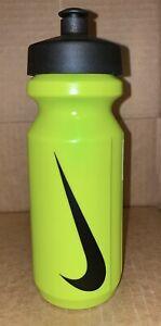 Nike Sports Bottle Big Mouth Water Bottle 22 Oz Neon Green NEW