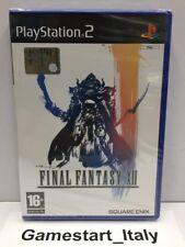 FINAL FANTASY XII 12 - SONY PS2 - NEW SEALED PAL VERSION - PLAYSTATION 2