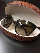 Dolce & Gabbana DG2113 Corset Sunglasses - 1151/13 Pale Gold/Gauze Brown-57mm