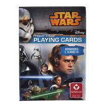 Star Wars - Prequel Trilogy Playing Cards - Episodes I, II and III