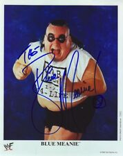 WWE WWF THE BLUE MEANIE AUTOGRAPHED HAND SIGNED 8X10 PHOTO WRESTLING PICTURE