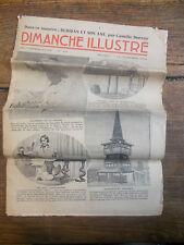 Journal Dimanche illustré n° 716 - 15 novembre  1936