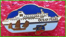 Pin's Bateau Voilier Drakkar OCEAN PEARL  Arthus Bertrand  #384