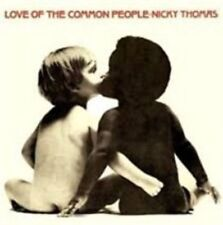 Nicky Thomas Love of The Common People CD 13 Track Reissue (tjcd529) Released 11