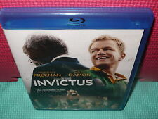INVICTUS - FREEMAN - DAMON - EASTWOOD  - BLU-RAY