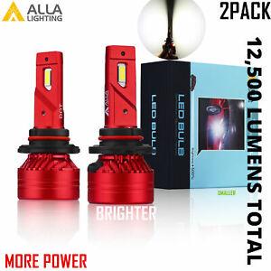 Alla Super Bright LED Pure White 9005 hd-light  Bulb Replacement, Light on Road