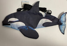 New Reef & Reed: Shoulder Bags with Fins - Orca Whale (Killer Whale) Purse
