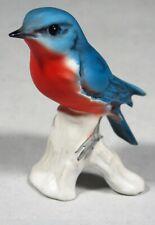 """GOEBEL W. GERMANY EASTERN BLUEBIRD FIGURINE 3858407 - 2 7/8"""" BIRD"""