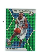 2019-2020 Panini Mosaic Hall Of Fame Allen Iverson Green