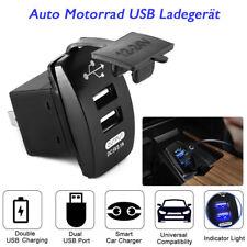 Wasserdicht Auto Motorrad KFZ Dual USB Ladegerät Steckdose Adapter 12V/24V