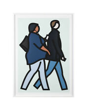 """JULIAN OPIE """"NEW YORK COUPLE 2"""" 2019 
