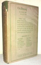 1924 STRANGE ALTARS PAUL JORDAN-SMITH 1ST EDITION 1ST PRINTING w RARE DJ ULYSSES