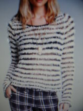 NWT WOMENS FREE PEOPLE BELL SLEEVE KNOT SWEATER $108  SIZE LARGE