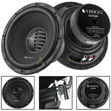 """2 Pack Orion 10"""" Subwoofer 1600 Watts Max Power 4 Ohm Cobalt Series C0104S"""