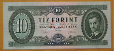 HUNGARY 10 Forint Banknote 1969 UNC