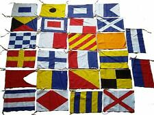 MARITIME Signal Code FLAG Set - Set of Total 26 flag - 100% COTTON