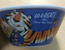 Kellogg's Tony The Tiger Frosted Flakes Plastic Cereal Bowl PreownedKitchen.com