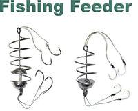 2 pcs Carp Spring Fishing Feeder - 8 Fishing Hook - Coarse Bait fishing tackle
