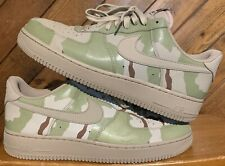 Nike Air Force 1 One 07 LV8 Desert Camo Sand Reflective 3M 718152-204 Size 12