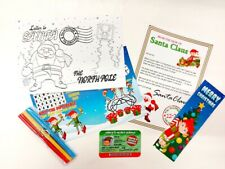 Elf Christmas Gift Box Filler Pack Includes Letters to & from Santa Xmas 6 Items
