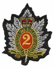 Queens Own Rifles Badge patch