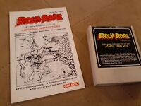 ROC'N ROPE by COLECO  for ATARI 2600 ▪︎CARTRIDGE and MANUAL▪︎