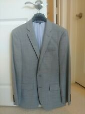 Ludlow Slim-fit suit jacket in Italian stretch worsted wool 36S in MINERAL GREY