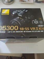 Nikon D D5300 24.2 MP Digital SLR Camera - Black (Kit w/ AF-S DX VR 18-140mm...