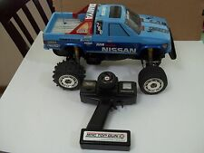 Vintage TAMIYA 1/10 RC 2wd high performance Nissan KingCab Truck