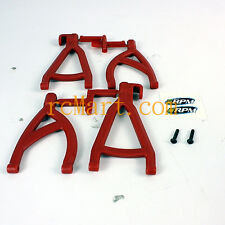 RPM Rear Upper Lower Suspension A arms Red Traxxas 1:16 E-Revo RC Cars #80609